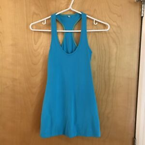 Lululemon-Cool-Racerback-Tank-CRB-Blue-Size-2-Yoga-Top-Shirt