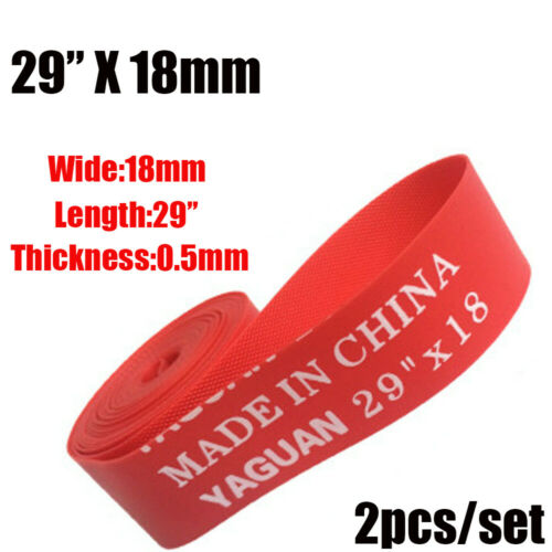 New Rim Liner Red Pad Anti Puncture Tape Bicycle Tire Liner  Bike Inner Tube