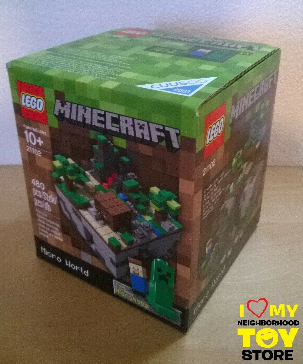 RETIRED - LEGO LEGO LEGO 21102 IDEAS #003 MINECRAFT™ MICRO WORLD THE FOREST (2012) - MISB a6a2f6