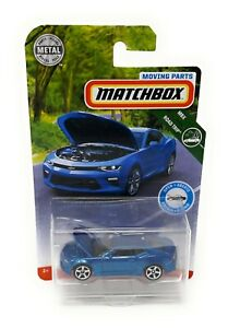 Matchbox-MBX-Superfast-2019-Chevrolet-Camaro-blau-Moving-Parts-Blister
