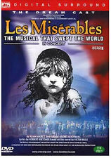 Les Miserables :The Dream Cast In Concert (1998) DVD NEW