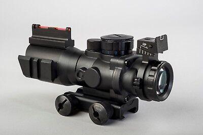 "Painstaking Pao 4 X 32 Tri-lume™ Prismatische Mil-dot Ultra Kompakt ""acog"" Umfang Jagen"