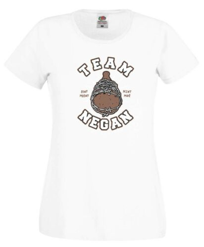 Team Negan T Shirt Survivors The Walking Dead TWD Rick Zombie Gift Women Tee Top