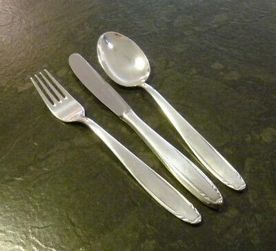 Besteck Regia 5 - 6 Personen 17 Teile 90er Silber Versilbert Messer Gabel Löffel Durch Wissenschaftlichen Prozess
