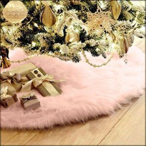 75cm-Christmas-Plush-Long-Haired-Christmas-Tree-Skirt-Christmas-Home-Decor-PK