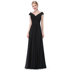 Ever Pretty US Evening Dress Long Prom Long Women V-neck Formal Party Gown 08633
