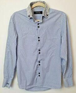 Coogi-Luxe-Men-039-s-Long-Sleeve-Shirt-Size-S