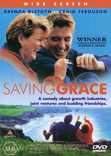 Brenda Blethyn Craig Ferguson Martin Clunes SAVING GRACE DVD (NEW & SEALED)