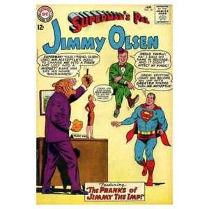 Superman-039-s-Pal-Jimmy-Olsen-1954-series-74-in-VG-condition-DC-comics-bq