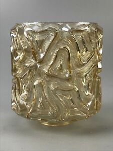 60er-70er-Jahre-Lampenschirm-Lampenglas-Glas-Ersatzglas-Space-Age-Design-60s-70s