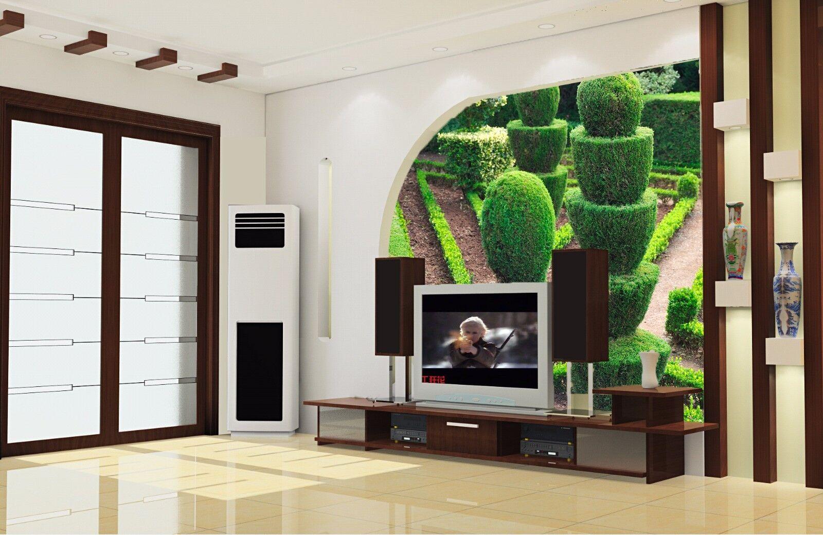 3D Schöne Kunstpflanze 854  Tapete Wandgemälde Tapete Tapeten Bild Familie DE