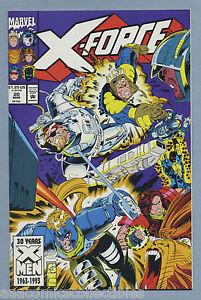 Details about X-Force #20 1993 Nick Fury Fabian Nicieza Greg Capullo Marvel  Comics