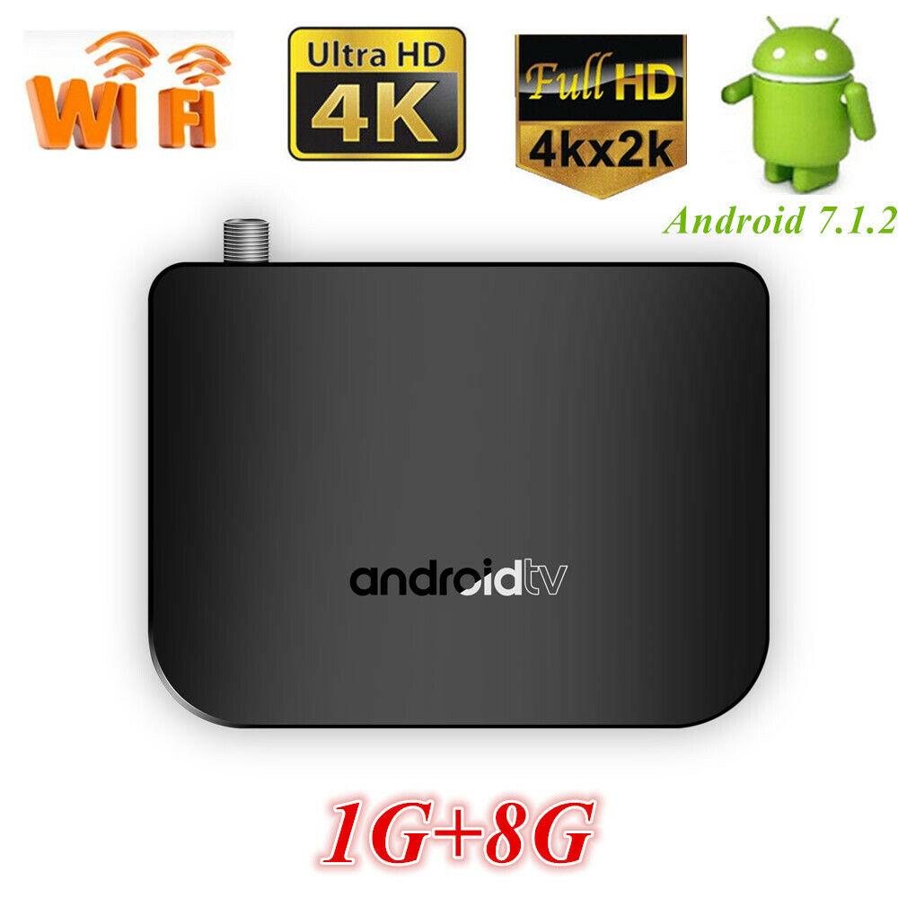 M8S PLUS DVB S2 Android S905D TV Box Quad Core 4K WiFi HDTV Smart Media Player