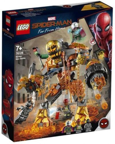 LA BATTAGLIA DI MATTLE SPIDER-MAN LEGO MARVEL SUPER HEROES 76128