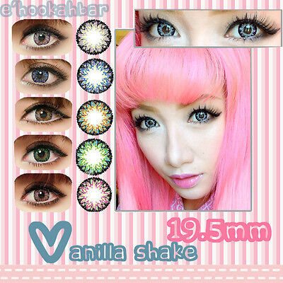Big Kawaii Colour Contact Lenses Cute Color Contacts GEO 4TONE VANILLA SHAKE