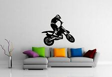 ig2322 Details about  /Motorcycle Vinyl Decal Race Extreme Sports Freestyle Wall Stickers