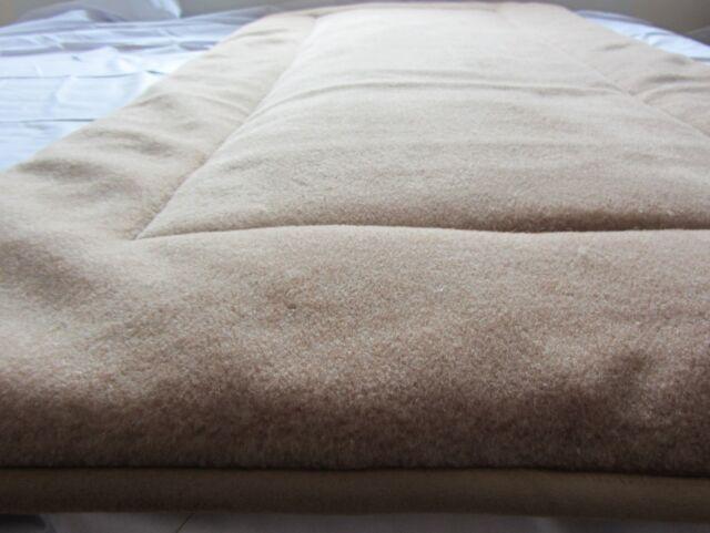 Unterbett  Matratzenauflage  Bettauflage  Schonbezug  Alpaca + Merinoswolle