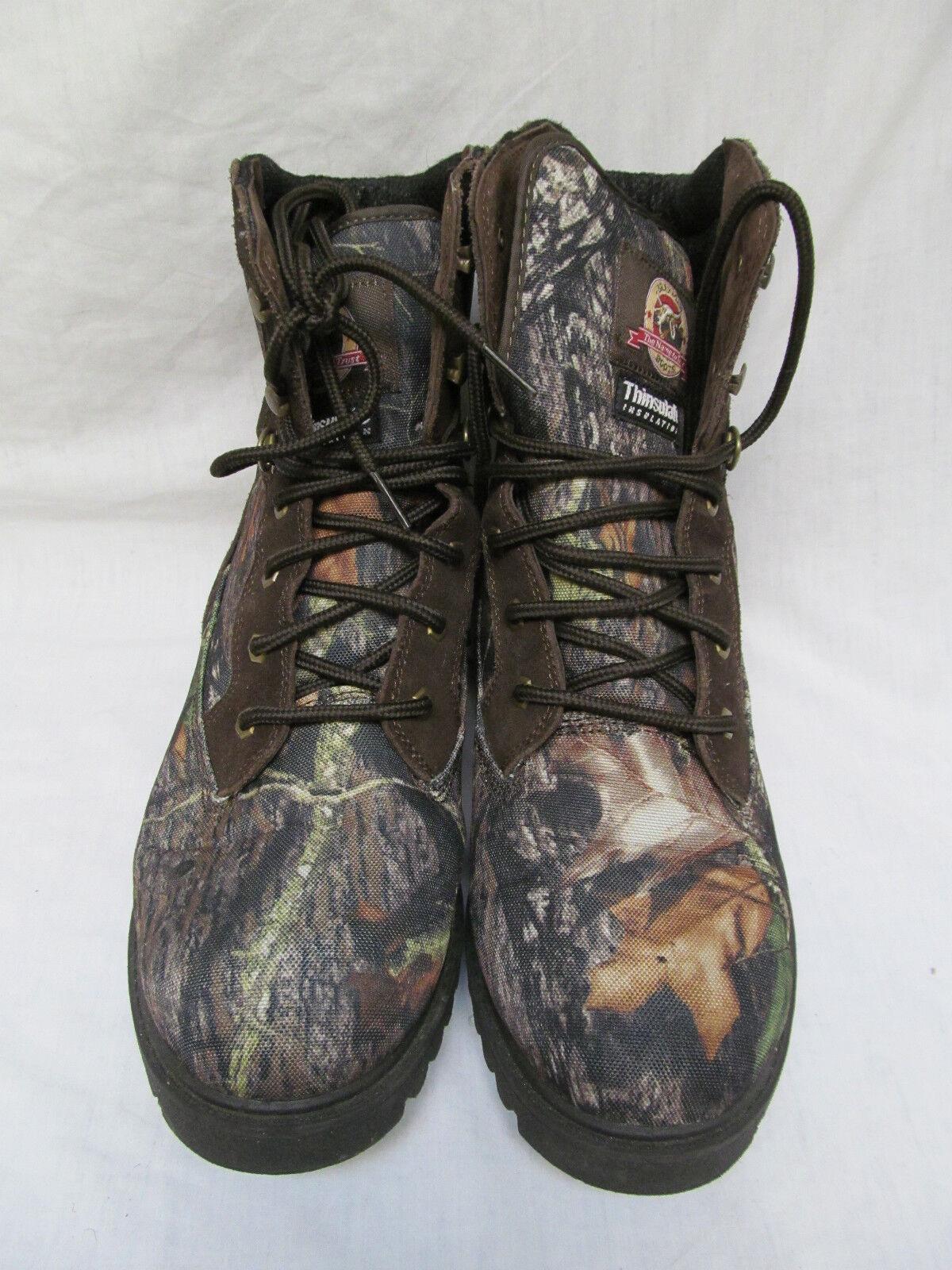 a85947a616d Para Hombre Camuflaje Brahma Thinsulate Caza botas Una Vez Usado  Impermeables pridjz5964-Botas