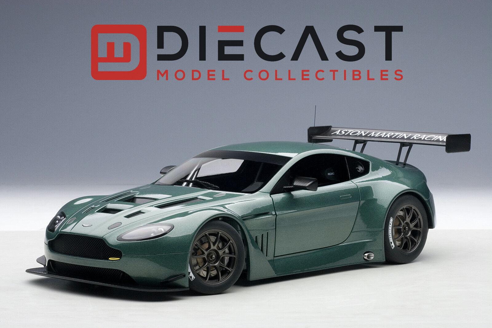 AUTOART 81306 Aston Martin Vantage V12 GT3 2013, vert, 2 portes Ouvertures, 1 18TH