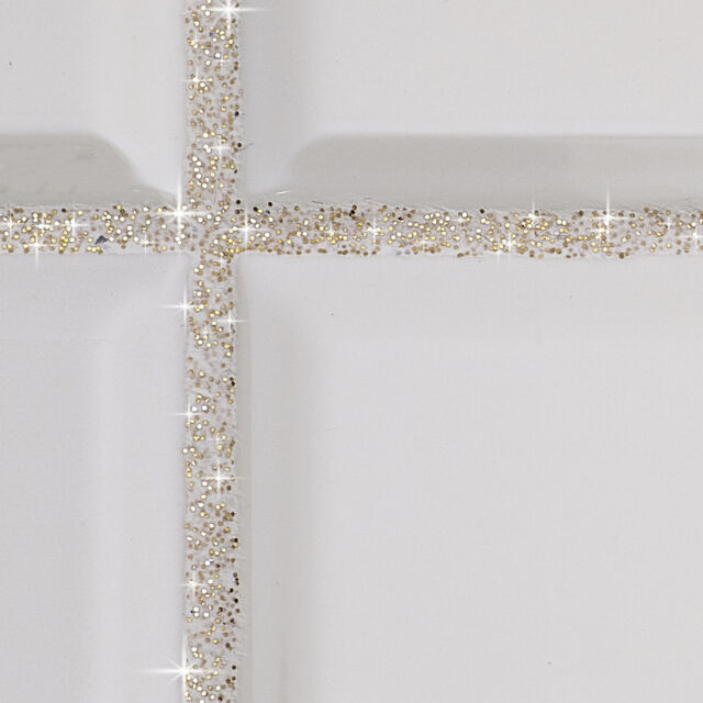 V1rtus Glitter Tile Grout Additive Silver Wall Floor Glass Mosaic