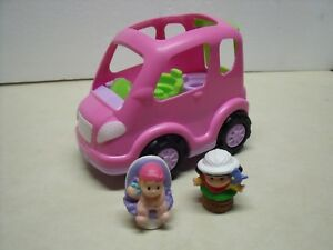 Fisher-Price-Little-People-All-Around-Musical-Mini-Van-with-Sounds-2-People-2013