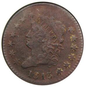 1813-Classic-Head-Large-Cent-1C-S-293-ANACS-VF30-Detail-Rare-this-Sharp