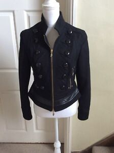 Style Taille Uk 8 10 Miliario Noir Jacket 42 Cappogi EDI9WYH2