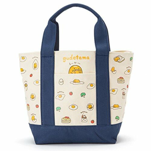Gudetama canvas Cooler bag S with Tracking number New from Japan