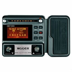 Mooer-GE100-Guitar-Multi-Effects-Processor-with-Expression-Pedal