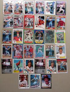 Mike-Schmidt-Philadelphia-Phillies-HOF-33ct-Card-Lot