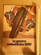 DEPLIANT 1979 ORIGINALE PRODUZIONE BMW R 100 RS RT 80 65 45 BOXER