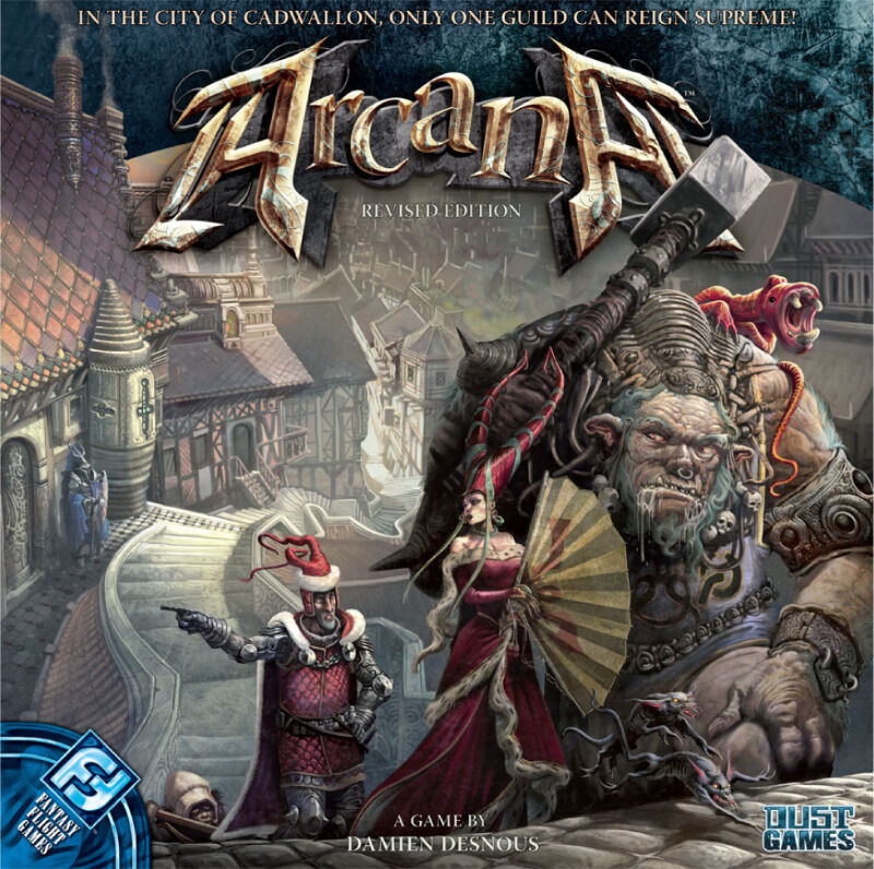 Arcana Revised Edition board game