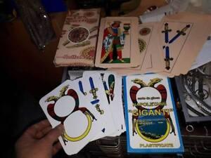 1 mazzo di carte napoletane 1 piacentine giganti cards for Due di bastoni carte napoletane