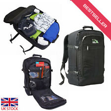 Lightweight Cabin Max Backpack Flight Approved Carry On 44L Travel Hand Luggage