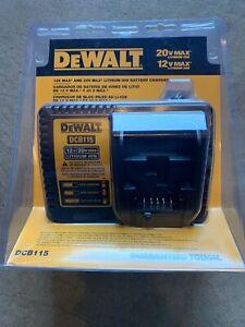 DEWALT-DCB115-MAX-Lithium-Ion-Battery-Charger-12V-20V