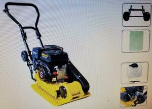 """Honda GX160 Vibratory Plate Compactor 6.5 HP Engine, Wheel kit Plate size: 19""""X 20 Canada Preview"""
