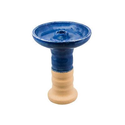 HARVIK HOOKAH BOWL BLAST blue-white//HANDMADE hookah bowl// located in US