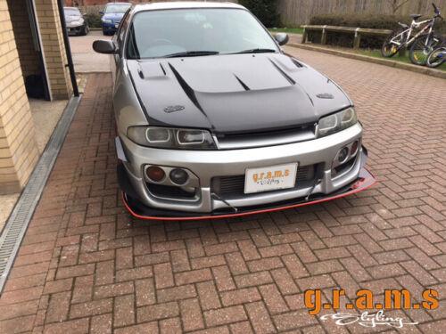 Front Bumper Lip for Nissan Skyline R32 R33 Track Drift v8 CARBON Splitter