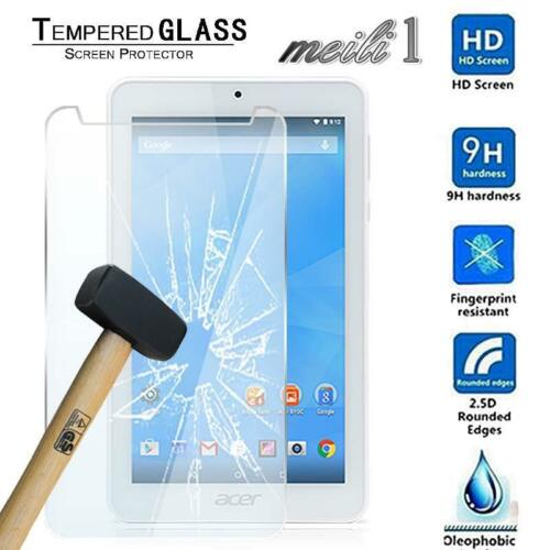 """Tablet Tempered Glass Screen Protector Cover For Acer Iconia One 7 B1-770 7/"""""""
