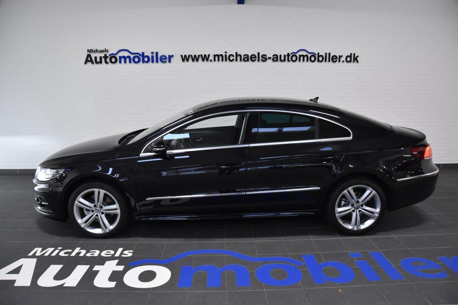 VW CC 2,0 TDi 150 R-line DSG BMT 4d - 399.900 kr.