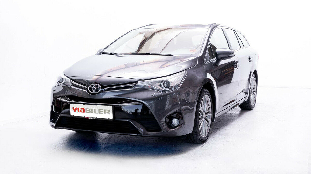 Toyota Avensis 1,8 VVT-i T2 Premium TS MDS 5d - 224.900 kr.