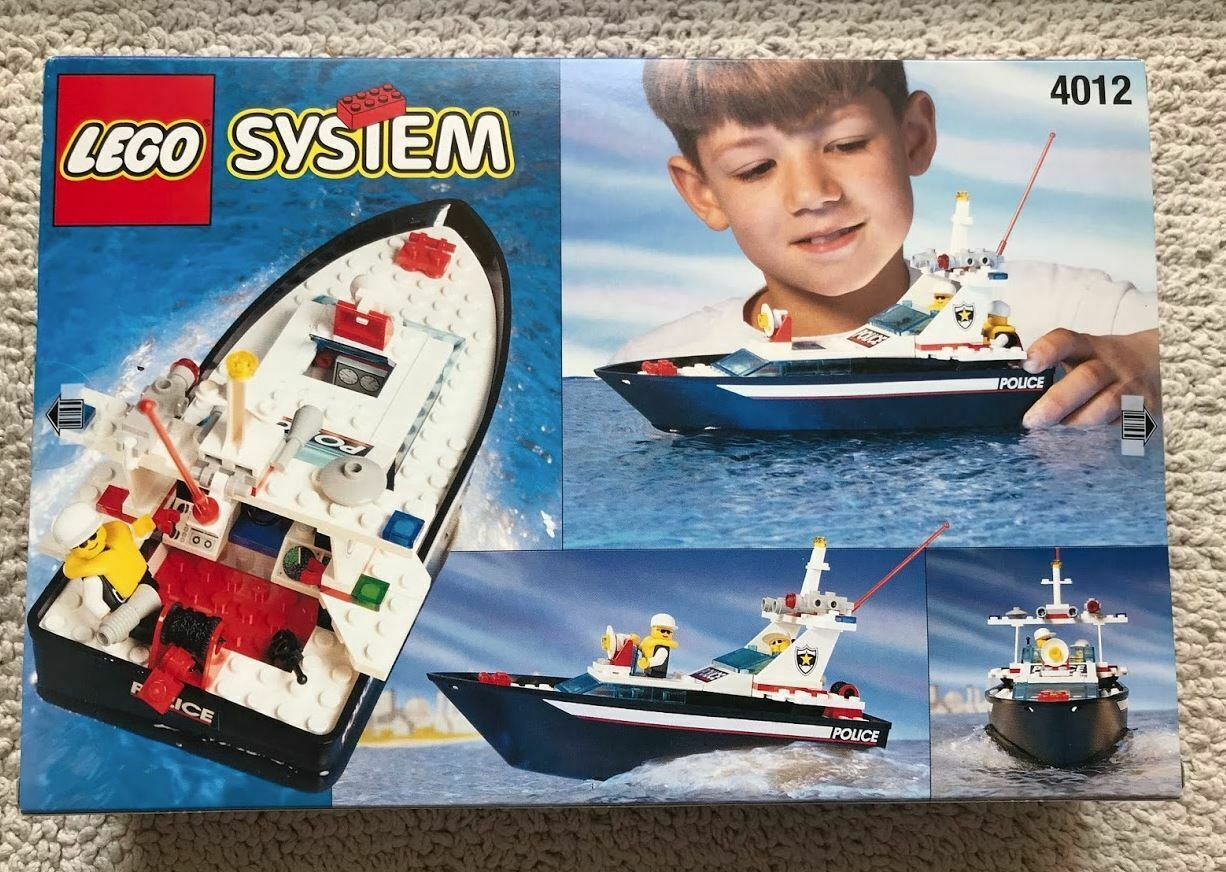 Lego System Wave Cops (4012) New in Box
