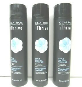 3-Clairol-Professional-iThrive-Style-Soothe-Shampoo-Manageable-Hair-Styling-NEW