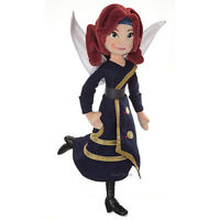 Disney Store Zarina 18 Plush Fairy Doll Wings the Pirate Fairy Free Ship