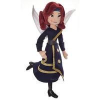 Disney Store Zarina 18 Plush Fairy Doll Wings the Pirate Fairy Free Ship
