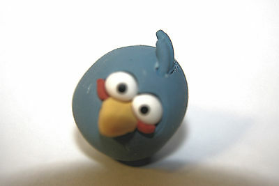 """BRAND NEW IN PACKAGE ANGRY BIRDS PUZZLE ERASERS /"""" BLUE BIRD /"""" COLLECTION"""