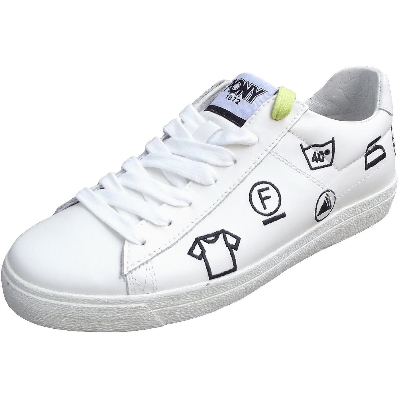 Pony Top Star Ox Damen Sneaker white