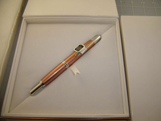 Namiki Vanishing Point Copper Fountain Pen Med Pt Limited Edition New In Box