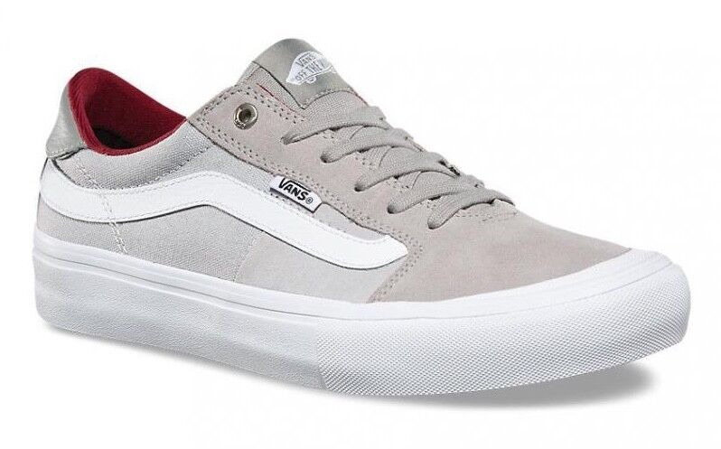 VANS (STYLE 1PRO) DRIZZLE MICRO CHIP GREY SKATE SHOES SZ MENS ULTRACUSH