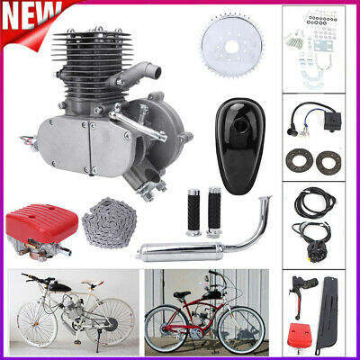 Motorised 2-stroke 100cc Engine Petrol Bicycle Bike Conversion Pedal Bump Start